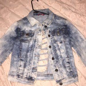 bleach jean jacket